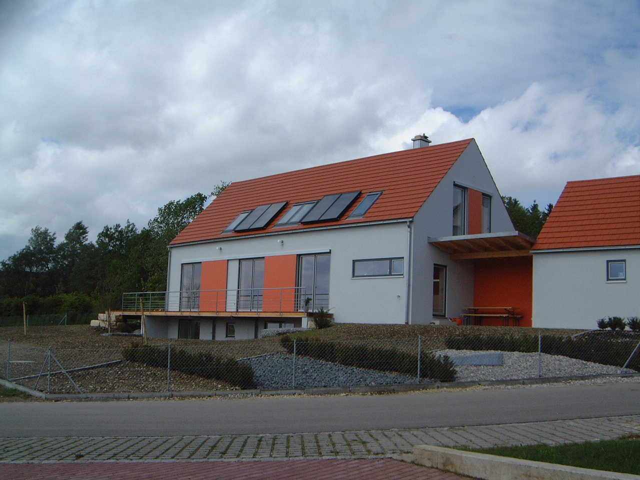 1-Neubau-Wohnhaus-Schretter-Unterhausen-Ansicht-Süden