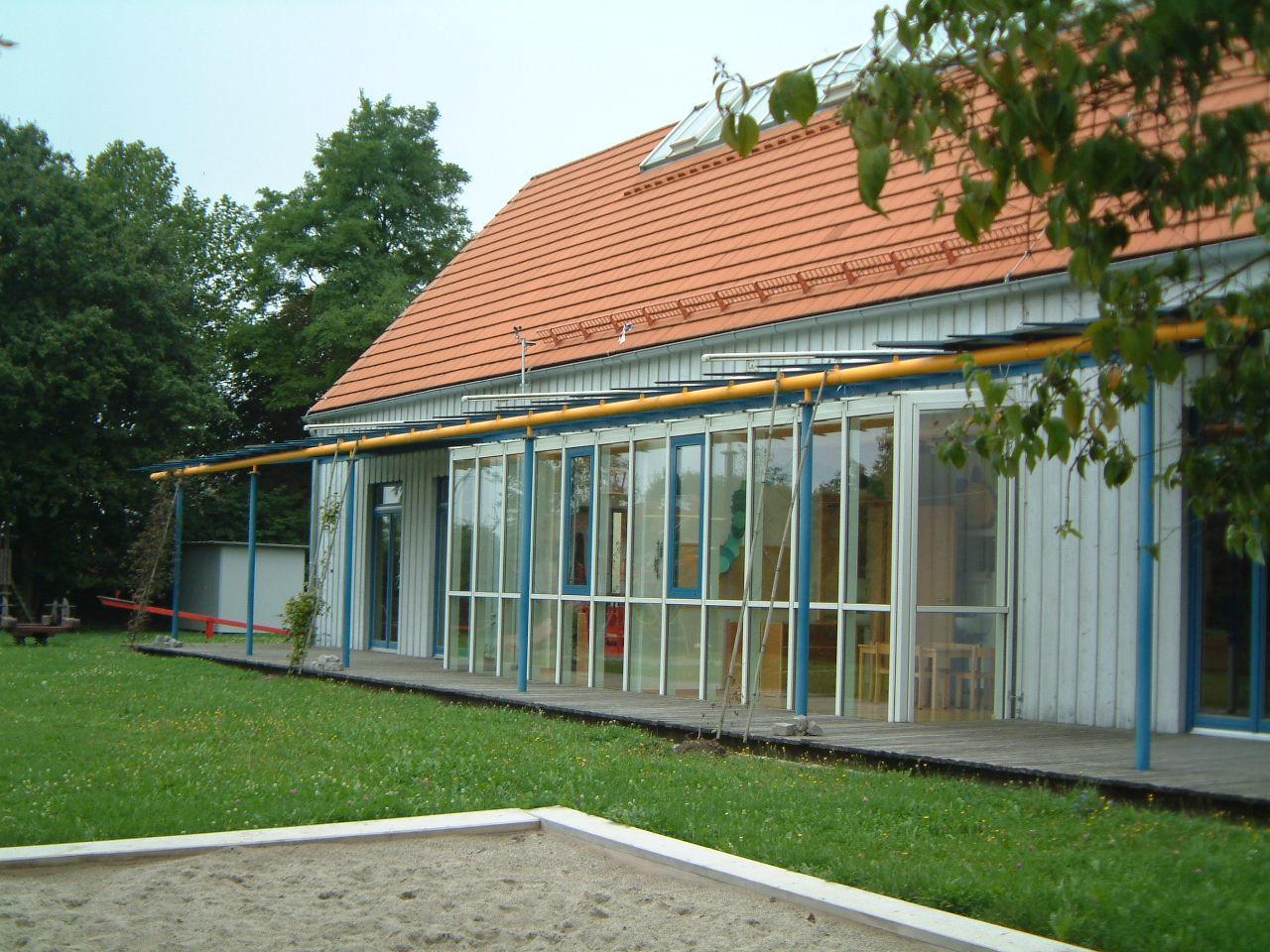 2-Neubau-Kindergarten-Eggelstetten-Ansicht-Garten-Süd