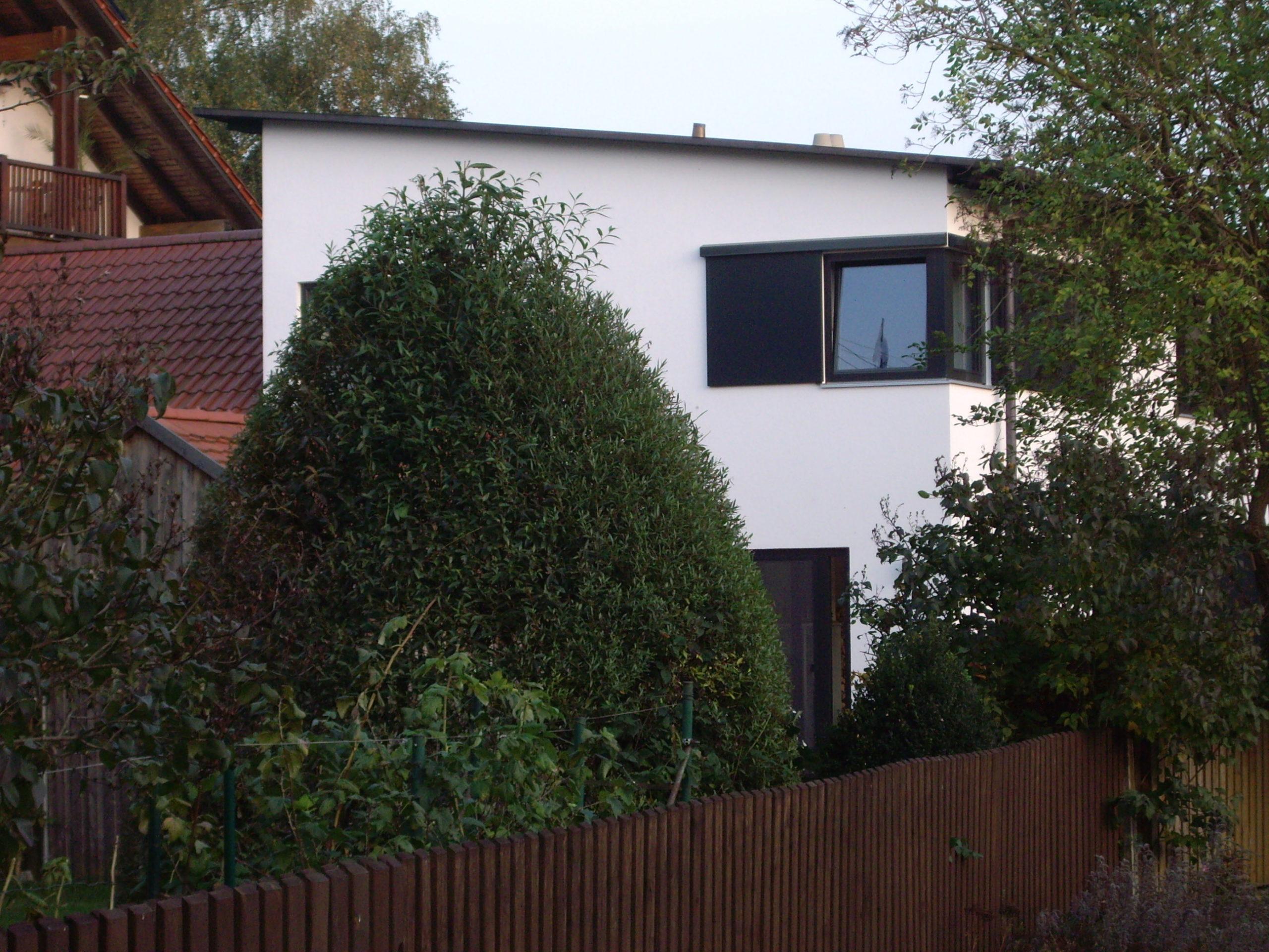 2-Neubau-Wohnhaus-Murr-Bergen-Ansicht-Nord