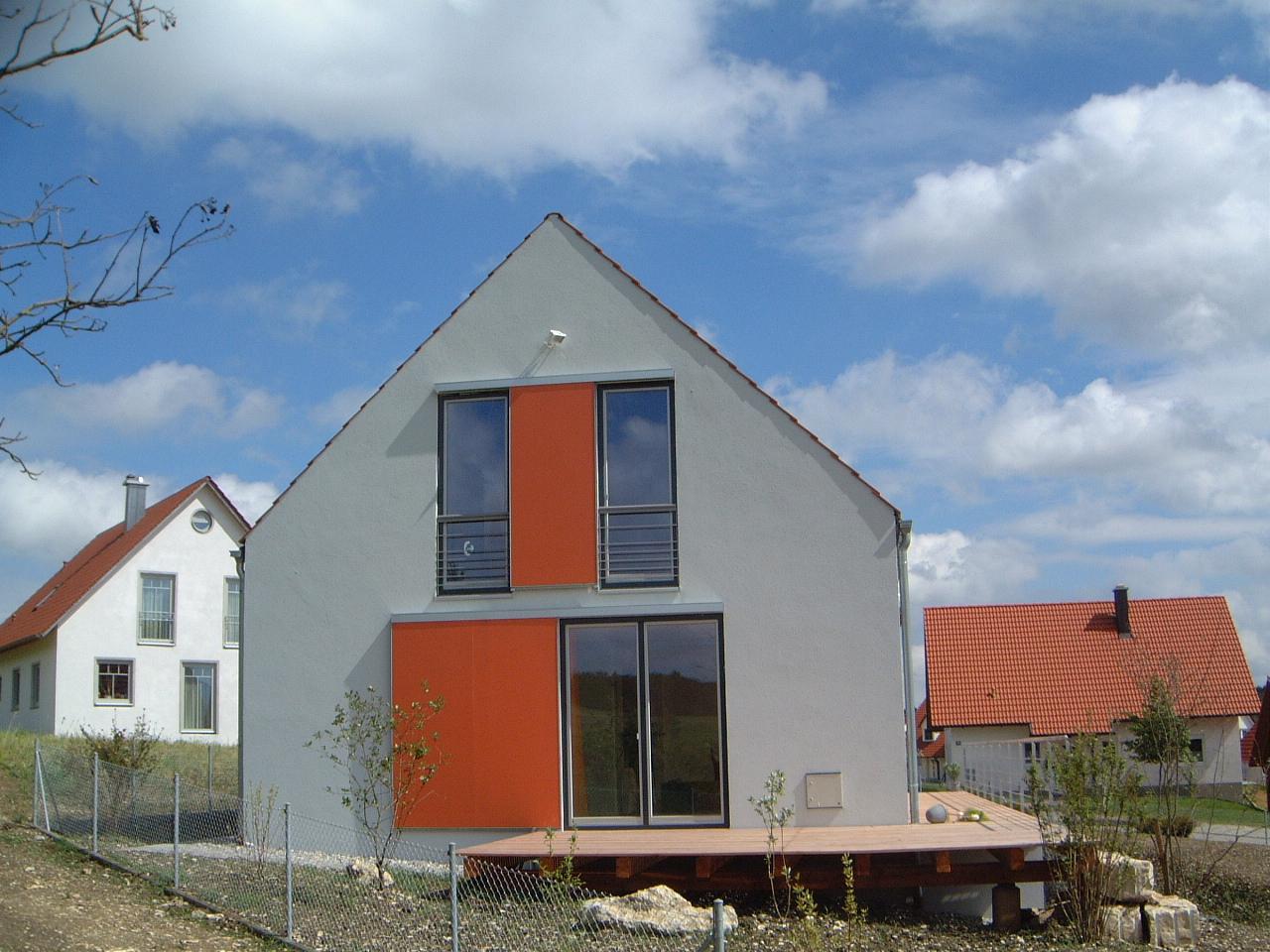 2-Neubau-Wohnhaus-Schretter-Unterhausen-Ansicht-Westen