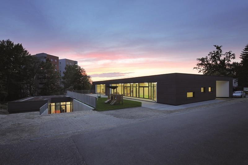 Projekt: KID-Kindergrippe und GemeindezentrumArchitekt: urban tool architectsOrt: D-DonauwörthDatum: 2014/02
