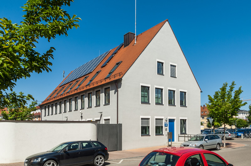 Verkehrspolizeiinspektion + Bauamt Donauwörth