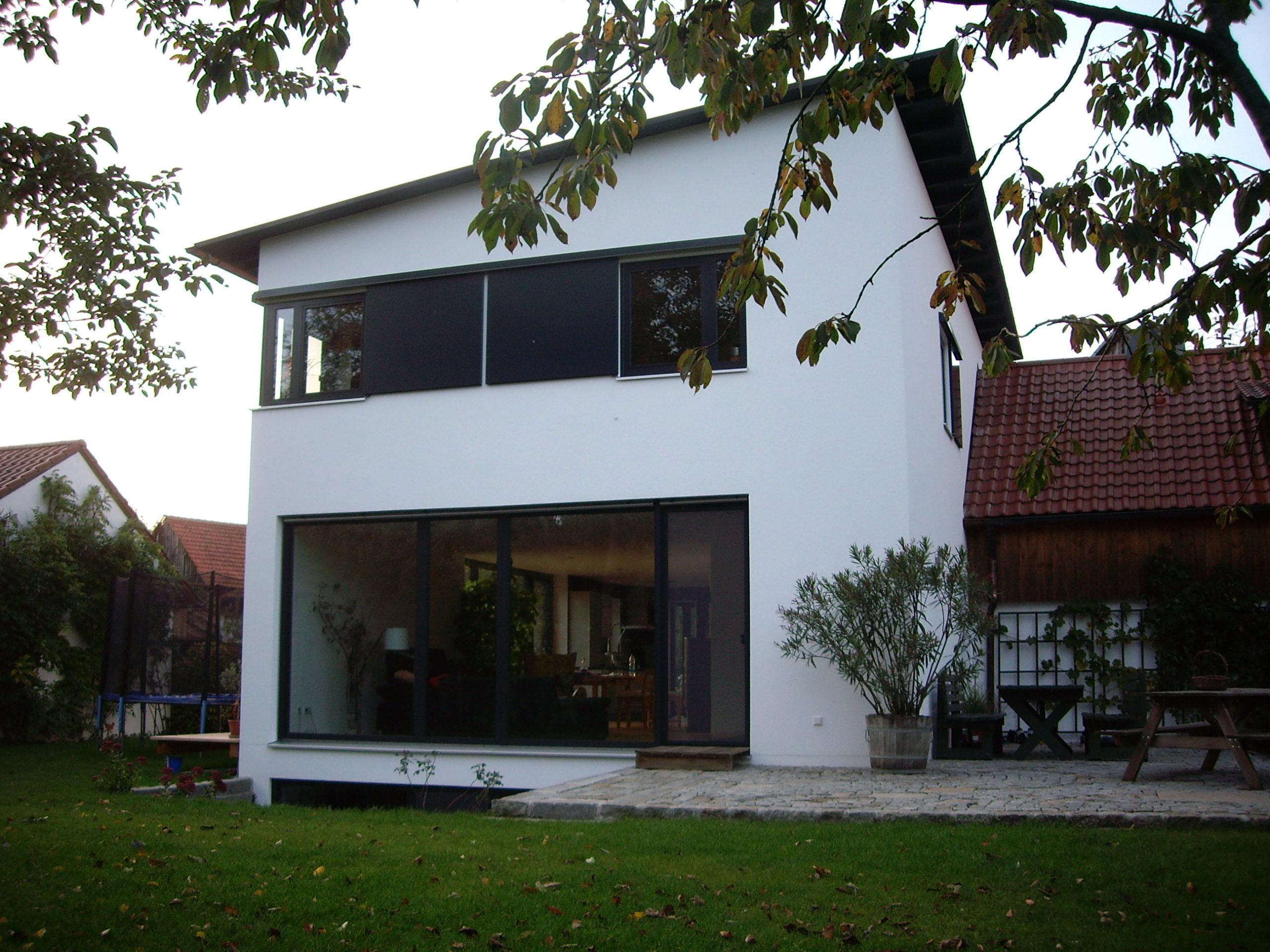 4-Neubau-Wohnhaus-Murr-Bergen-Ansicht-Süd