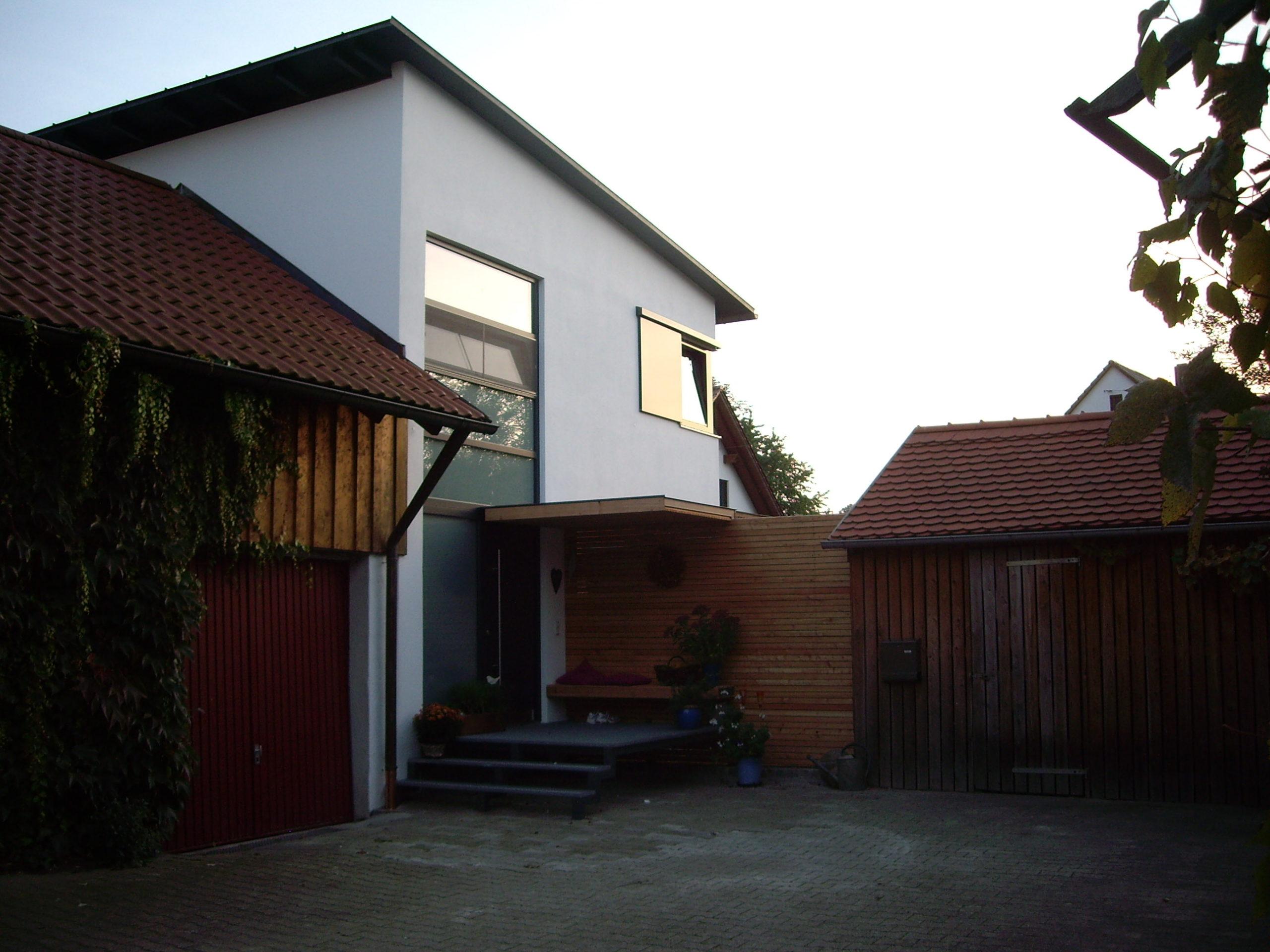 7-Neubau-Wohnhaus-Murr-Bergen-Eingangsbereich